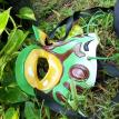 Leather Frog Mask